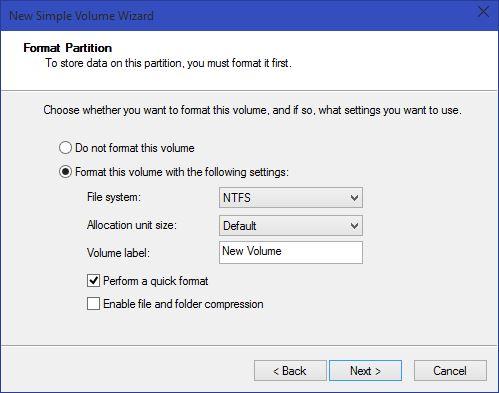 Hướng dẫn bạn phân vùng ổ cứng ngay trên Windows 10