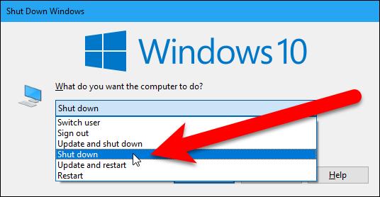 Bỏ Cập Nhật Trên Windows 10 Khi Tắt Máy Tính