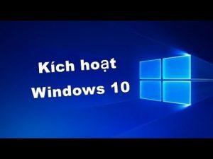 Active windows 10 pro chỉ một cái click