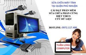Sửa máy tính Quận Phú Nhuận