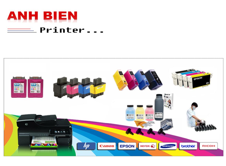 Nạp mực máy in màu - Giá rẻ Uy tín - Mực in chất lượng