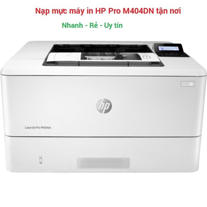 Nạp mực in Hp Pro M404DN (hộp mực 76A)