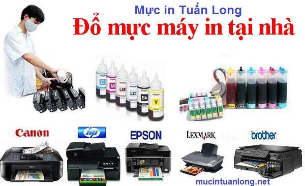 Nạp mực máy in tại Mỹ Tho - Tiền Giang