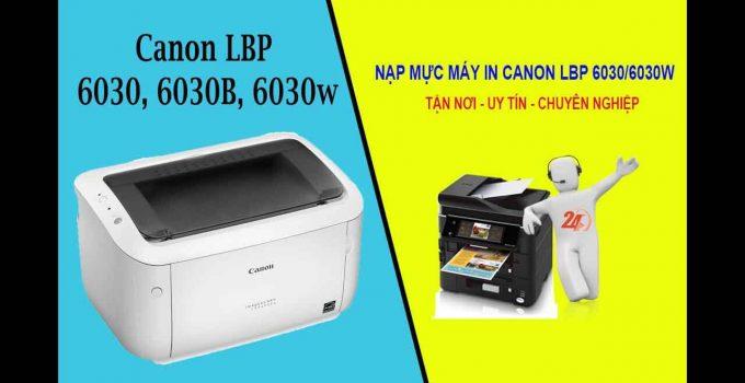 nạp mực máy in canon lbp 6030/6030w giá rẻ nhất tphcm