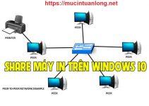 cách share máy in - chia sẻ máy in trong mạng lan