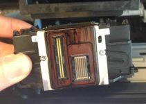 cách bảo quản mực in - làm sạch đầu phun máy in
